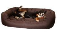 Hundebett ARES XL 110cm BRAUN