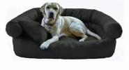 Hundebett  PAULA robust aus Codura 120cm Graphit