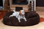Hundesofa PHILIP CORD-Velours PH6-AC-01 XXXL 170cm BRAUN