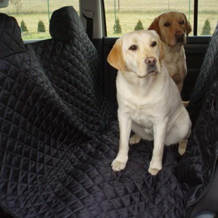 Autoschondecke, Autoschutzdecke, Hundedecke, 160 x 140 cm, Schwarz