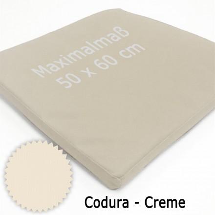 Einlegematte für Katzen-Transportboxen nach Ihren individuellen Maßen (maximal 60 x 50 cm) Polyester 600D | 05 Creme