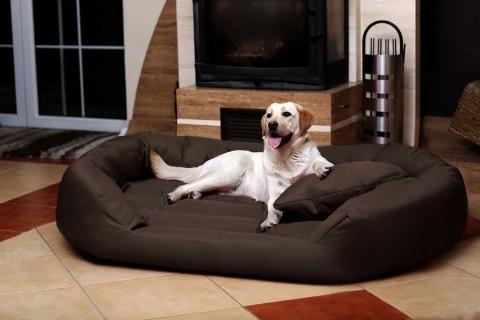 Hundebett SAMMY XXXXL 220 cm Polyester 600D Braun