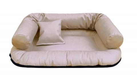 Hundebett WATSON S 65 cm Polyester 600D Beige