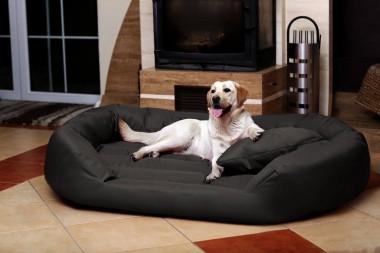 Hundebett SAMMY XXXL 170 cm Polyester 600D Graphit XXXL | Graphit