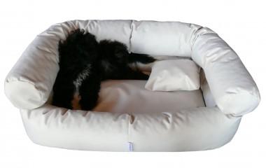 Hundebett PAULA M 80 cm Polyester 600D Creme