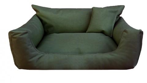 Hundebett NEMO KOMFORT S 65 cm Polyester 600D Olive Grün S | Olive Grün
