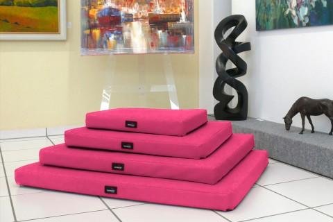 Orthopädische Hundematratze ALICE VISCO L 100 cm Polyester 600D Pink