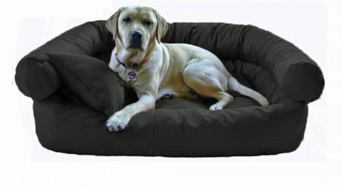 Hundebett PAULA XL 120 cm Polyester 600D Graphit