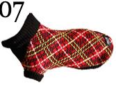 Hundepullover AmiPlay XS 26 cm Schottland-Rot kariert