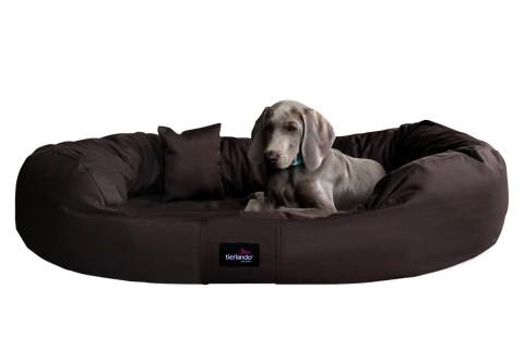 Hundebett ARES KOMFORT XL+ 125 cm Polyester 600D Braun