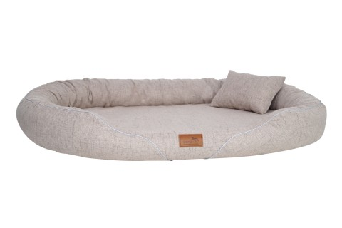 Orthopädisches Hundebett TIFFANY Couture XL | Beige