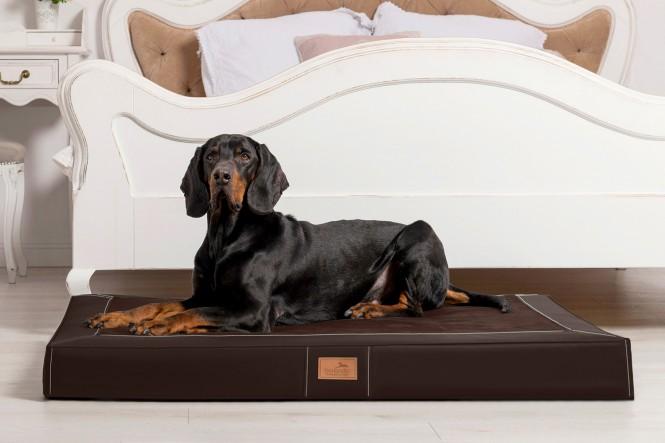 OSCAR VIP | Orthopädische Hundematratze L | Braun