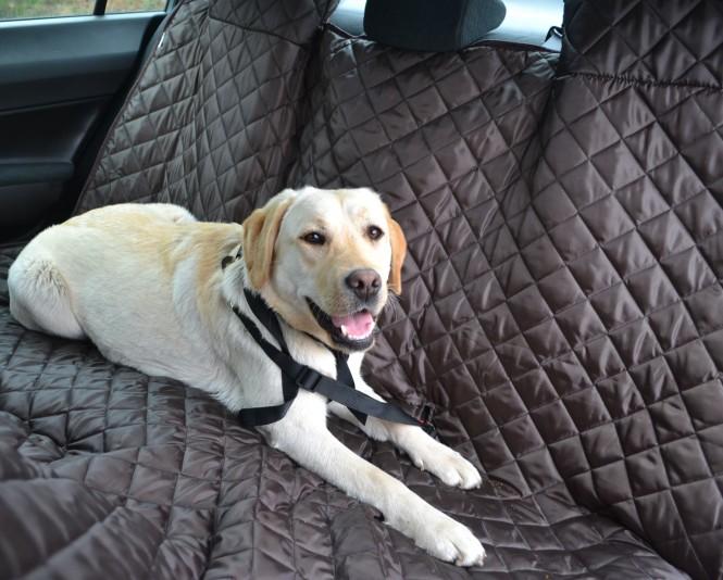 Autoschondecke, Autoschutzdecke, Hundedecke, 180 x 140 cm, Braun