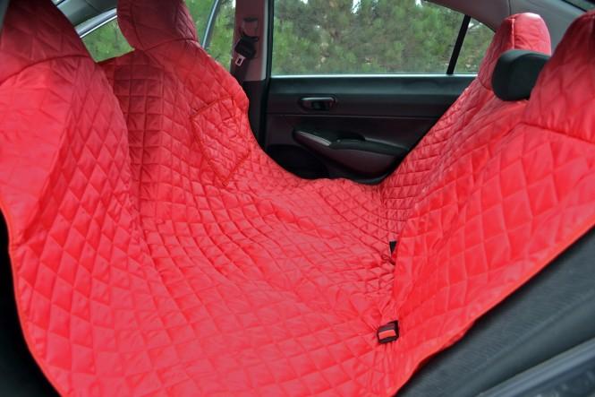 Autoschondecke, Autoschutzdecke, Hundedecke, 200 x 140 cm, Bordeaux-Rot