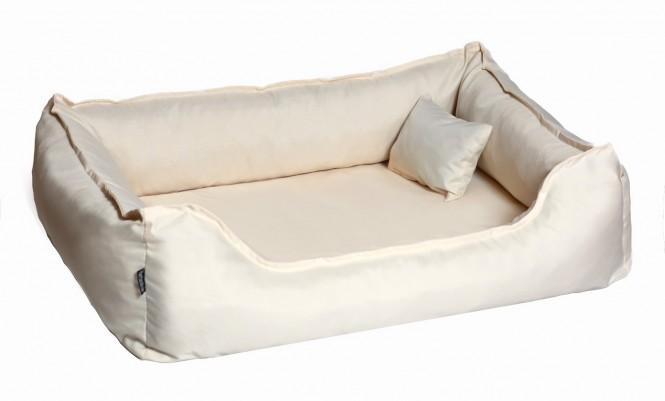 Orthopädisches Hundebett DONALD Visco M 80 cm Polyester 210D Creme M | Creme