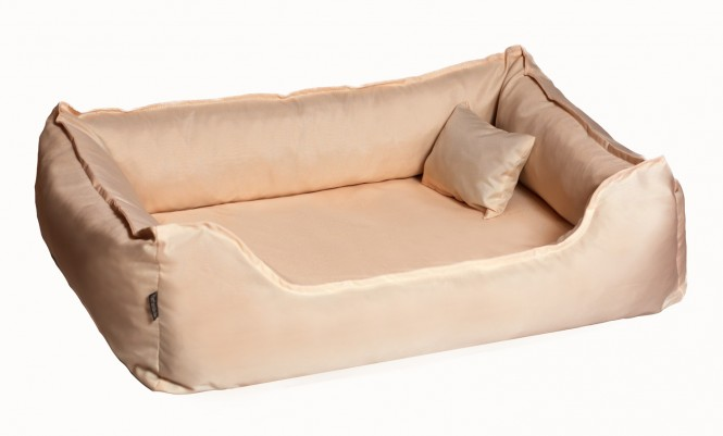Orthopädisches Hundebett DONALD Visco XL 120 cm Polyester 210D Beige XL | Beige
