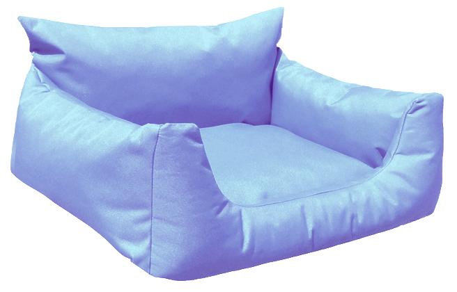Hundebett NEMO KOMFORT L 100 cm Polyester 600D Hellblau L | Hellblau