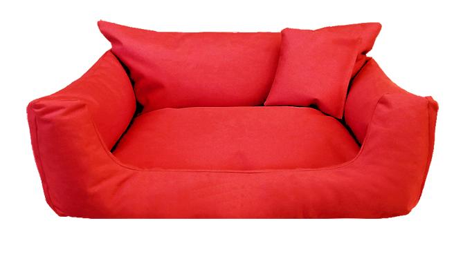 Hundebett NEMO KOMFORT S 65 cm Polyester 600D Rot S | Rot