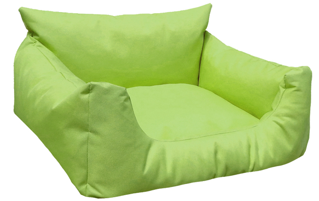 Hundebett NEMO KOMFORT S 65 cm Polyester 600D Hellgrün S | Hellgrün