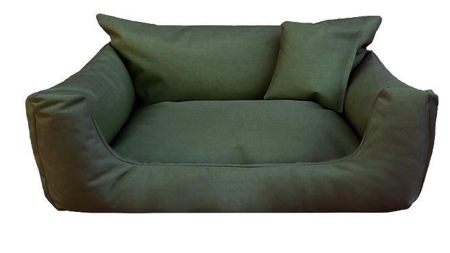 Hundebett NEMO KOMFORT L 100 cm Polyester 600D Olive Grün - L | Olive Grün