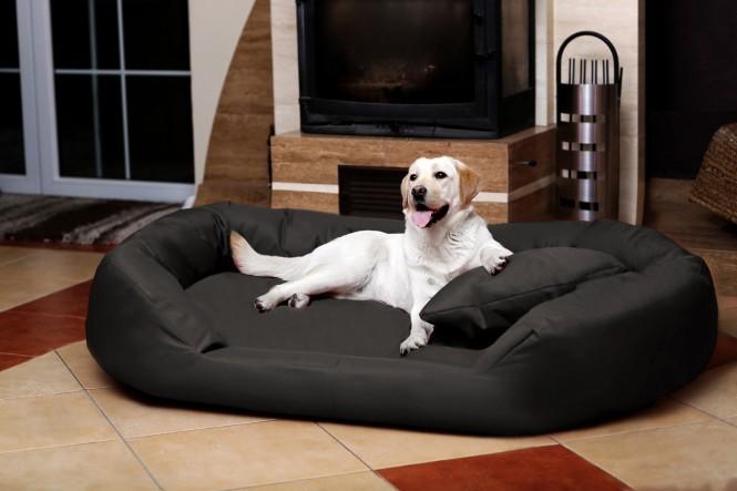 Orthopädisches Hundebett SAMMY VISCO L 100 cm Polyester 600D Graphit L | Graphit