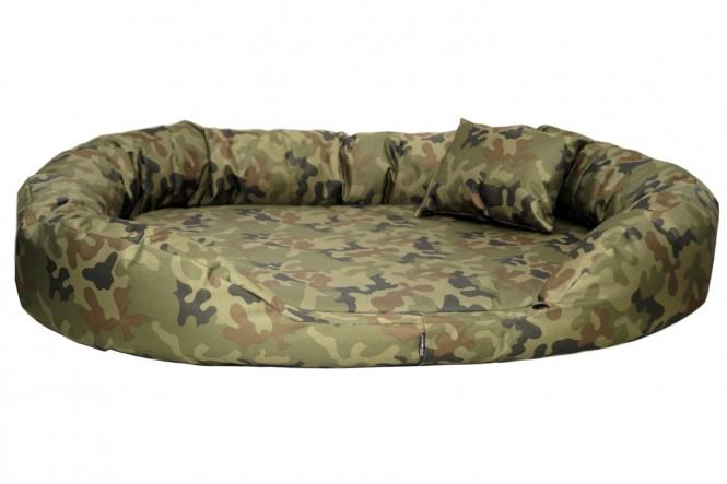 Orthopädisches Hundebett SAMMY VISCO L 100 cm Polyester 600D Camouflage L   Camouflage
