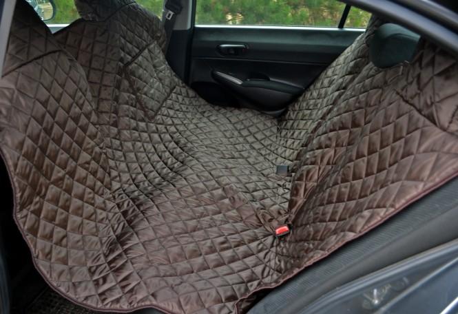 Autoschondecke, Autoschutzdecke, Hundedecke, 200 x 140 cm, Braun