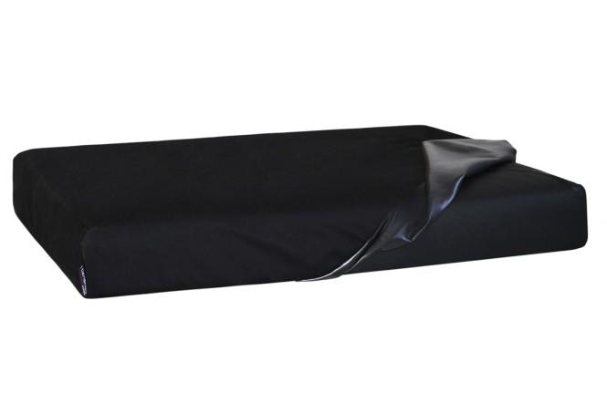 Quick-Cover TRITON | Matratzenschoner (4-eckig) - L 100 x 80 cm | Braun