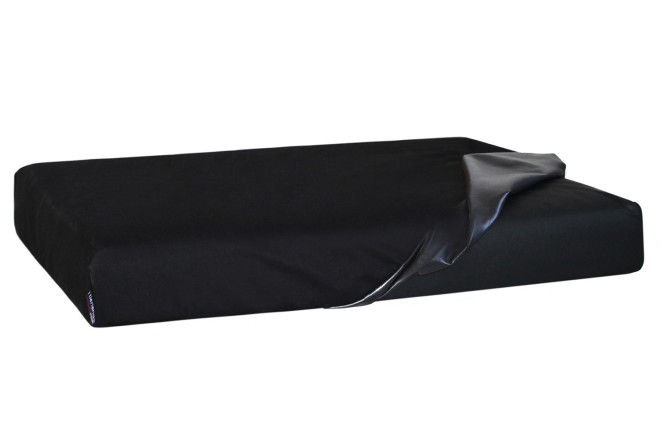 Quick-Cover TRITON | Matratzenschoner (4-eckig) M 75 x 55 cm | Dunkelrot