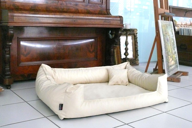 orthop disches hundebett goofy visco xl 130 cm kunstleder. Black Bedroom Furniture Sets. Home Design Ideas