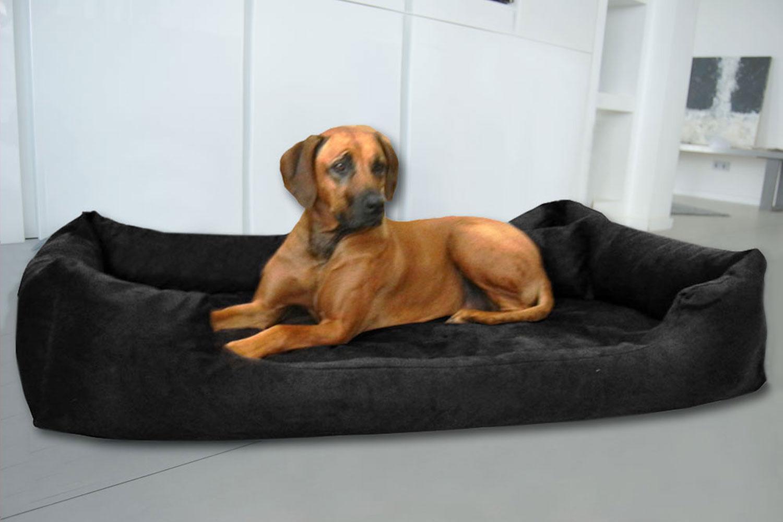 orthop disches hundebett pluto visco xl 120 cm velours. Black Bedroom Furniture Sets. Home Design Ideas