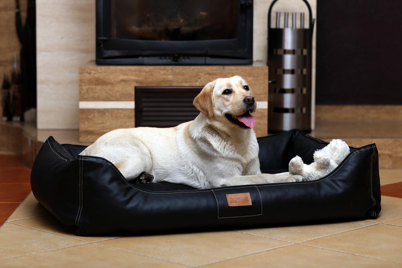 hundebett maddox xxl 150 cm kunstleder braun tierlando. Black Bedroom Furniture Sets. Home Design Ideas