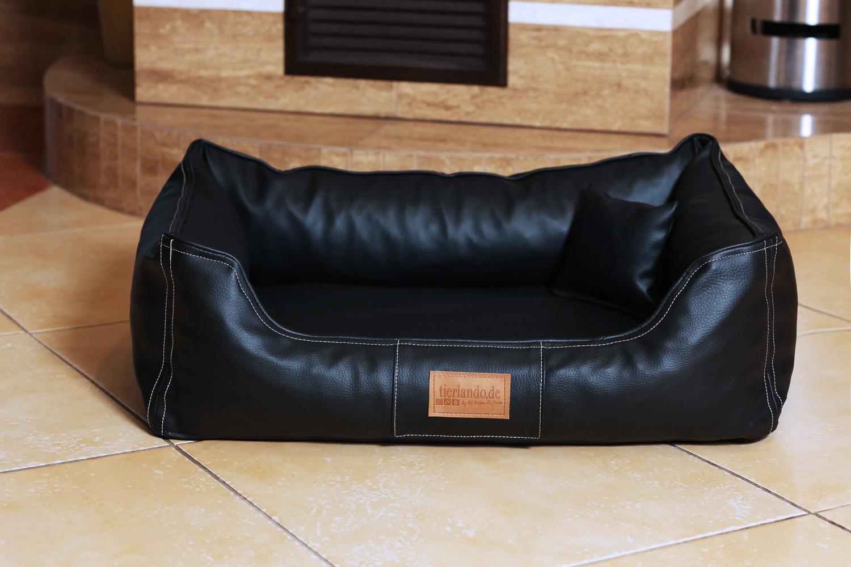 orthop disches hundebett maddox visco m 80 cm kunstleder. Black Bedroom Furniture Sets. Home Design Ideas